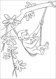 kids fun 30 coloring pages curious george