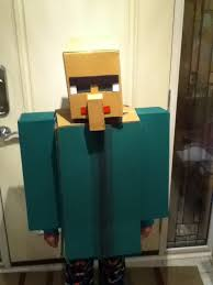Minecraft Villager Halloween Costume Omg Villager Costume Dad