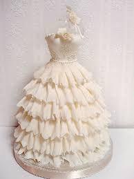 76 best bridal dress cake images on pinterest dress cake bridal