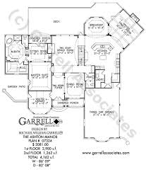 manor house plans ashton manor house plan house plans by garrell associates inc