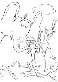 dr seuss horton coloring pages 31 jr u0027s 2nd birthday