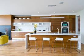 pendant lights for kitchen island kitchen open plan kitchen with wooden veneered kitchen cabinet and