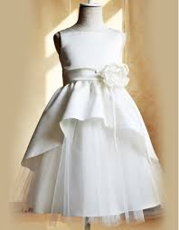 discount floor length satin tulle girls first communion dresses