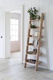 Bathroom Wall Shelves Bathroom Diy Bathroom Storage Ladder Made From One Piece Of Wood