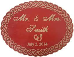 wedding plaques personalized 11 best custom made items images on handmade wall