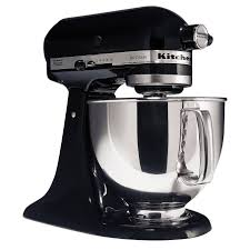 Kitchen Aid Colors by Kitchenaid Ksm150psob Artisan Series Onyx Black 5 Quart Stand Mixer