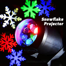 outdoor holiday light laser snowflake projector rgb color led