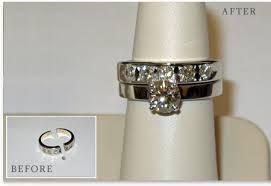 Reset Wedding Ring by Before U0026 After Alexander J Bongiorno Creative Jeweler 101