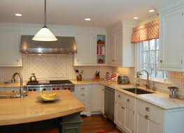 White Kitchen Cabinets Ideas For Countertops And Backsplash Kitchen Backsplash Ideas With White Cabinets Image Of White