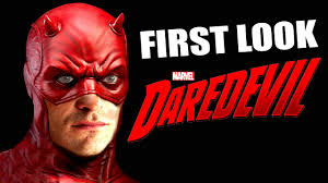 first look daredevil tv series 2015 new costume youtube