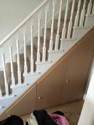 interior ootw carpenters under stair storage stair storage