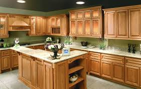 Unfinished Maple Kitchen Cabinets by Kitchen Color Ideas With Cherry Cabinets Trash Cans Bakeware Sets