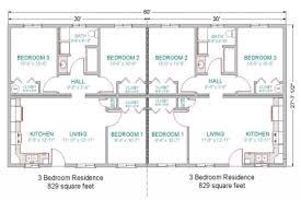 30 simple 3 bedroom house floor plans home design 89