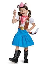 Wild Cat Halloween Costume Sheriff Callie Classic Girls Costume