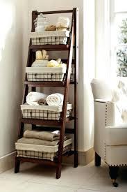 white corner storage cabinet oak ladder shelving unit to store
