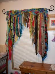 How To Hang Curtain Swags by