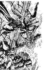 batman vs joker final inks by rudyvasquez on deviantart