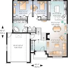 split level house plan graceful split level house plan 21806dr architectural designs