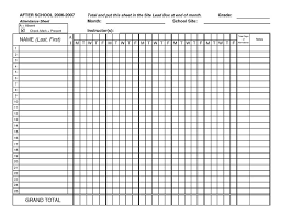 Sheets Template Excel Free 5 Monthly Employee Attendance Sheet Template Excel Social