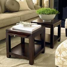 Small Tables For Living Room Really Cool Idea Two Small Tables Instead Of One Coffee Table