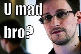Snowden Meme - booz allen employees think edward snowden is a douche