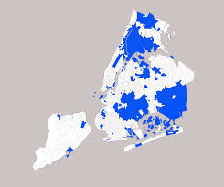 New York Map With Cities by How Segregated Is New York City