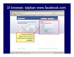 membuat facebook yg baru panduan mendaftar akaun facebook