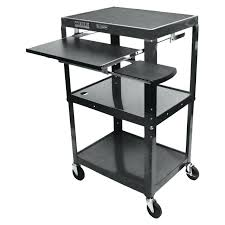 Small Portable Computer Desk Portable Computer Desk On Wheels Table Outstanding For Small