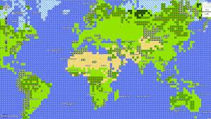 Maps Goole Google Maps 8 Bit For Nes 8 Bitters