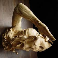 organic wood sculpture incredibly realistic sculpture carved from a single block of wood