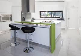 gentle modern kitchen with white base and wall kitchen cabinet