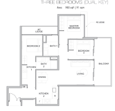 floor plan key kingsford waterbay floor plan kingsford waterbay