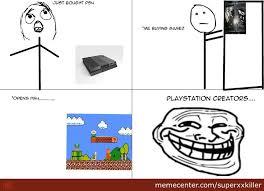 Playstation 4 Meme - playstation 4 sucks by recyclebin meme center