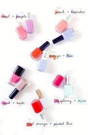 color combos mani pedi color combos for summer feelbella