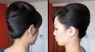 chinese middle age man hair style french twist tutorial updo for long thick hair youtube