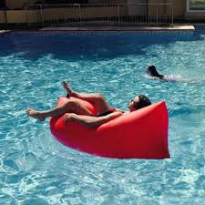 floating couch sofa inflatable water sofa the instant couch youtube best