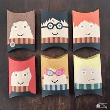 harry potter pillow boxes bugaboocity