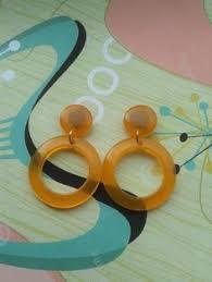 rockabilly earrings rockabilly cherry earrings charm earrings 50s chic pin up