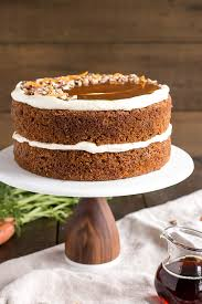 maple caramel carrot cake with cream cheese frosting liv for cake