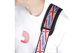 British Flag Shirts D U0027addario Union Jack Strap With Pad British Flag