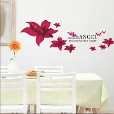 wall decals ideas red wall decals 39 red floral wall stickers large image for good coloring red wall decals 148 red rose wall decals red lily flower