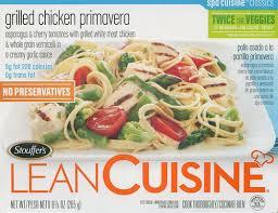 liant cuisine lean cuisine grilled chicken primavera food in