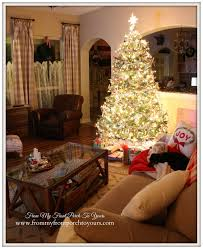 from my front porch to yours farmhouse vintage christmas living room