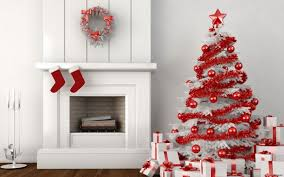 download fireplace and christmas tree wallpaper free by net