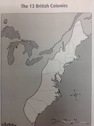 Blank Map Of The 13 Colonies by Blog Archives Mrs Holloway U0027s Webpage
