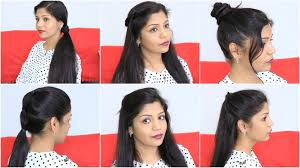 a quick and easy hairstyle i can fo myself 7 quick easy hairstyles for lazy girls superprincessjo youtube