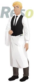 tenu professionnelle cuisine tenue de travail du serveur de restaurant reso le