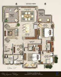 floorplans costa rica resort near liberia international airport