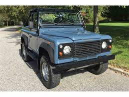 90s land rover 1997 land rover defender for sale classiccars com cc 1042186