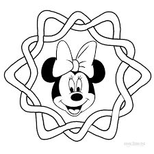head outline minnie head outline mickey minnie mouse head outline
